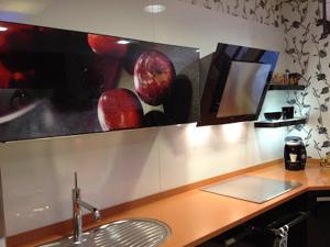 Vitrinas de cocina con fotos o dibujos personalizados - Armarios personalizados ...